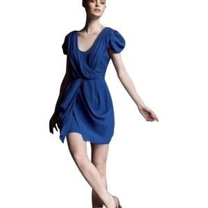 Tibi Silk Draped Dress